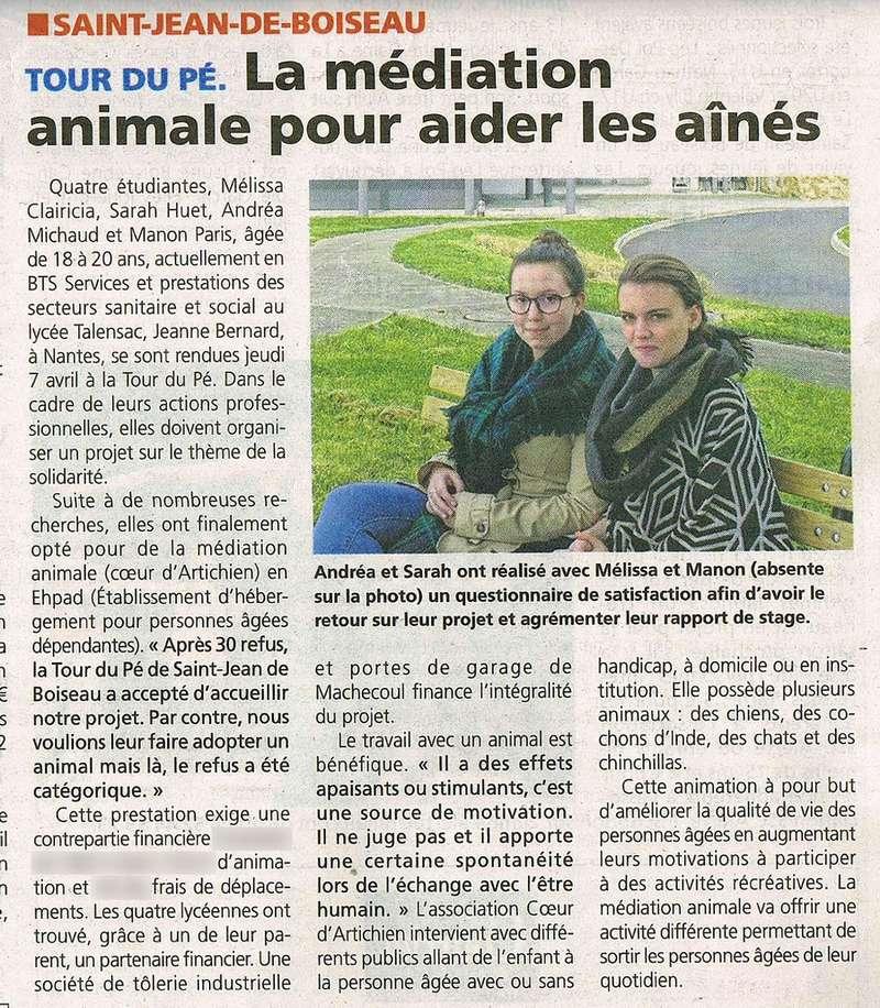 etudiante_coeurdartichien_mediation_animale