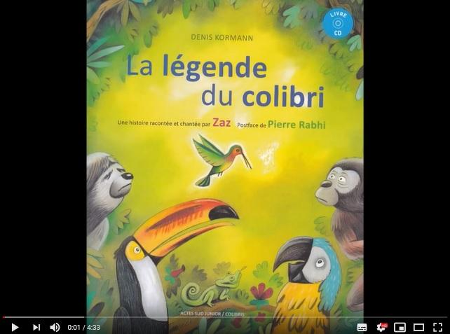 legende du colibri